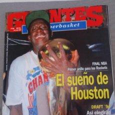Coleccionismo deportivo: REVISTA BALONCESTO GIGANTES BASKET 452 FINAL NBA 1994 ROCKETS CAMPEONES NBA CARL HERRERA VENEZUELA. Lote 34641870