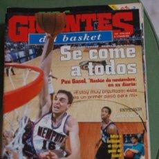 Coleccionismo deportivo: REVISTA BALONCESTO GIGANTES BASKET 841 PAU GASOL MEMPHIS GRIZZLIES NBA ROOKIE NOVIEMBRE 2001. Lote 34643361