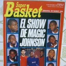 Coleccionismo deportivo: REVISTA BALONCESTO NBA 1991 SUPERBASKET 49 MAGIC JOHNSON PICULIN ORTIZ AUDI NORRIS. Lote 34649065