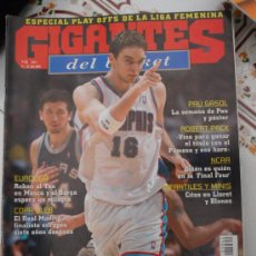 Coleccionismo deportivo: REVISTA BALONCESTO GIGANTES BASKET SABONIS 962 2004 PAU GASOL MEMPHIS GRIZZLIES PLAYOFFS NBA . Lote 34700658