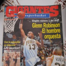 Coleccionismo deportivo: REVISTA BALONCESTO GIGANTES BASKET 453 1994 DRAFT NBA GLENN ROBINSON OBRADOVIC FICHA REAL MADRID . Lote 34700760