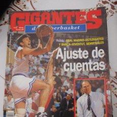 Coleccionismo deportivo: REVISTA BALONCESTO GIGANTES BASKET 444 1994 SEMIFINALES ACB MADRID ESTUDIANTES BARCA JOVENTUT. Lote 34700860