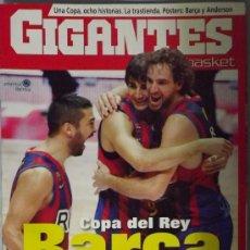 Coleccionismo deportivo: REVISTA GIGANTES Nº 1320 FEBRERO 2011. F.C. BARCELONA CAMPEÓN COPA DEL REY 2010-2011. Lote 34670182