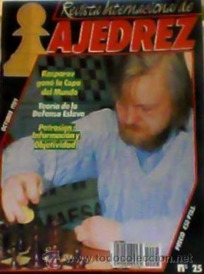 REVISTA INTERNACIONAL DE AJEDREZ Nº 25 (Coleccionismo Deportivo - Revistas y Periódicos - otros Deportes)