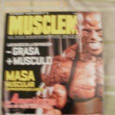 Coleccionismo deportivo: REVISTA CULTURISMO MUSCLEMAN. Lote 57794666