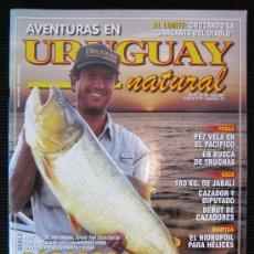 Coleccionismo deportivo: REVISTA URUGUAY NATURAL Nº 64 AÑO 2001 CAZA Y PESCA. Lote 35170768