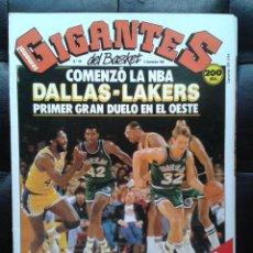 Coleccionismo deportivo: REVISTA SEMANAL. LOS GIGANTES DEL BASKET. Nº 158. 14 NOVIEMBRE 1988.CON POSTER . Lote 35176859