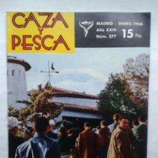 Coleccionismo deportivo: REVISTA CAZA Y PESCA Nº 277 - ENERO 1966-. Lote 35534126