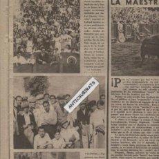 Coleccionismo deportivo: REVISTA AÑO 1945. LA ARMONICA FOTO CORPUS EN ALBOX GIGANTES DE GANDIA INVENTOR DEL BALONCESTO NAISMI. Lote 35543467