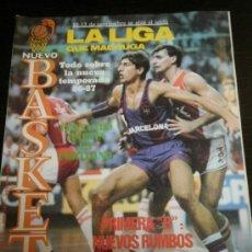 Coleccionismo deportivo: NUEVO BASKET Nº. 148 - SEPTIEMBRE 1986 - PLAYOFF /ACB / NBA / CBA /FERNANDO MARTIN / NUEVA TEMPORADA. Lote 35547203