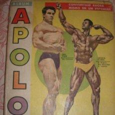 Coleccionismo deportivo: ALBUM REVISTA APOLO (FISICOCULTURISMO) - NºS. 1 AL 5 - AÑO 1961 - ARGENTINA - MATERIAL UNICO!!!. Lote 35923062