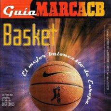 Coleccionismo deportivo: GUIA MARCA BALONCESTO ACB DE 2000. Lote 36142524