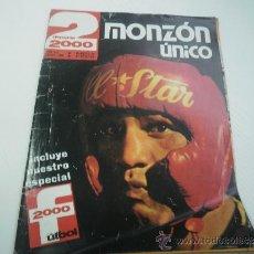 Coleccionismo deportivo: REVISTA DEPORTE 2000 - ENERO 1976 - CARLOS MONZON - BOXEO - ILIE NASTASE - TENIS. Lote 36254505