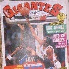 Coleccionismo deportivo: REVISTA GIGANTES DEL BASKET Nº 24. 21 ABRIL DE 1986. Lote 36897005