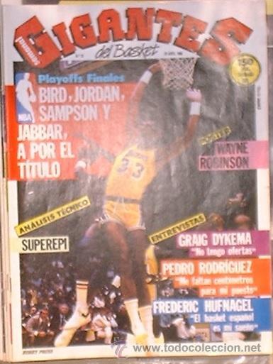REVISTA GIGANTES DEL BASKET Nº 25. 28 ABRIL DE 1986 (Coleccionismo Deportivo - Revistas y Periódicos - otros Deportes)