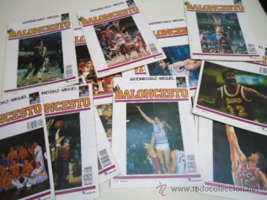 LOTE REVISTAS MI BALONCESTO ANTONIO DIAZ MIGUEL BASQUET (Coleccionismo Deportivo - Revistas y Periódicos - otros Deportes)