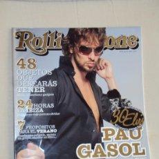 Coleccionismo deportivo: PAU GASOL. LOTE 7 REVISTAS.. Lote 98760072