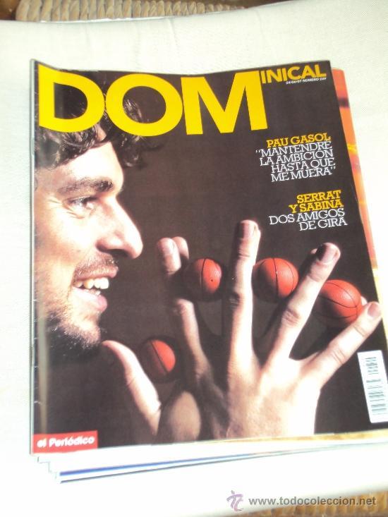 PAU GASOL. LOTE 8 REVISTAS. II (Coleccionismo Deportivo - Revistas y Periódicos - otros Deportes)