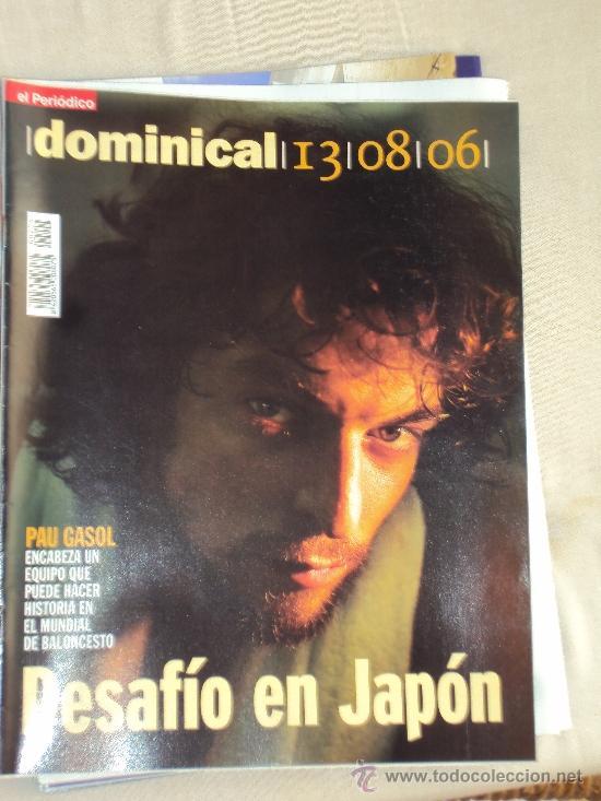Coleccionismo deportivo: Pau Gasol. Lote 8 Revistas. II - Foto 2 - 37661418