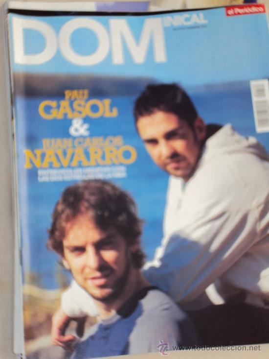 Coleccionismo deportivo: Pau Gasol. Lote 8 Revistas. II - Foto 3 - 37661418
