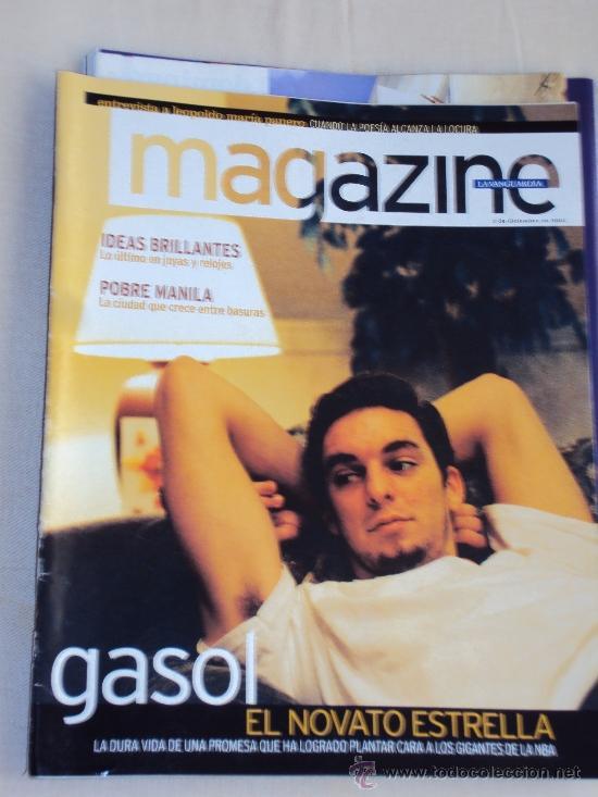 Coleccionismo deportivo: Pau Gasol. Lote 8 Revistas. II - Foto 4 - 37661418