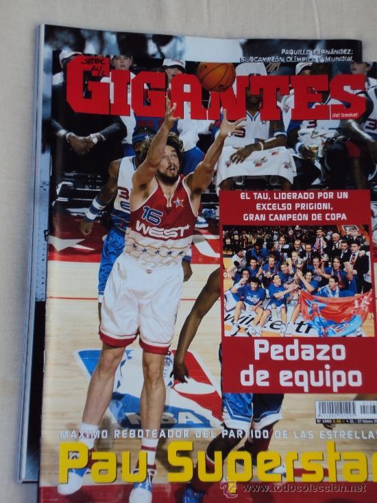 Coleccionismo deportivo: Pau Gasol. Lote 8 Revistas. II - Foto 6 - 37661418