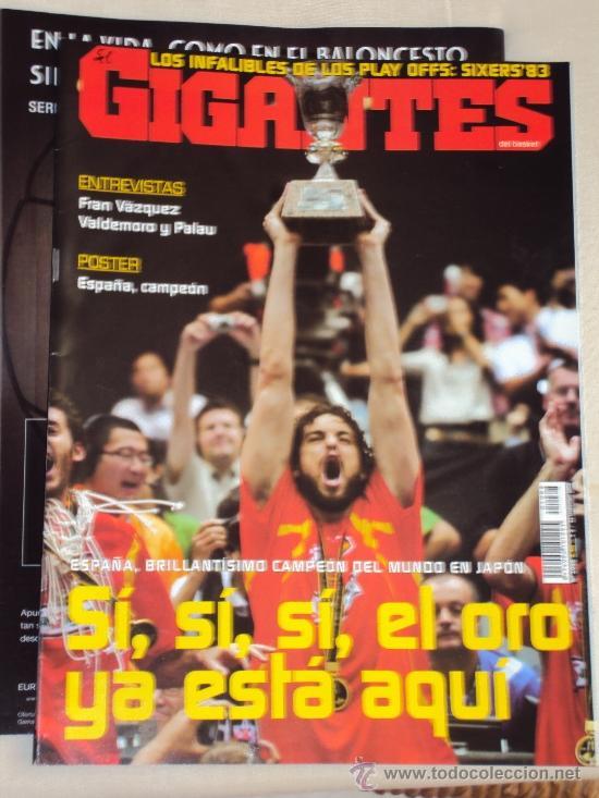 Coleccionismo deportivo: Pau Gasol. Lote 8 Revistas. II - Foto 7 - 37661418