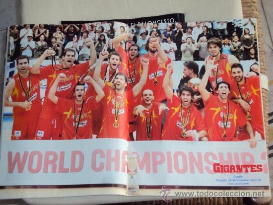 Coleccionismo deportivo: Pau Gasol. Lote 8 Revistas. II - Foto 8 - 37661418