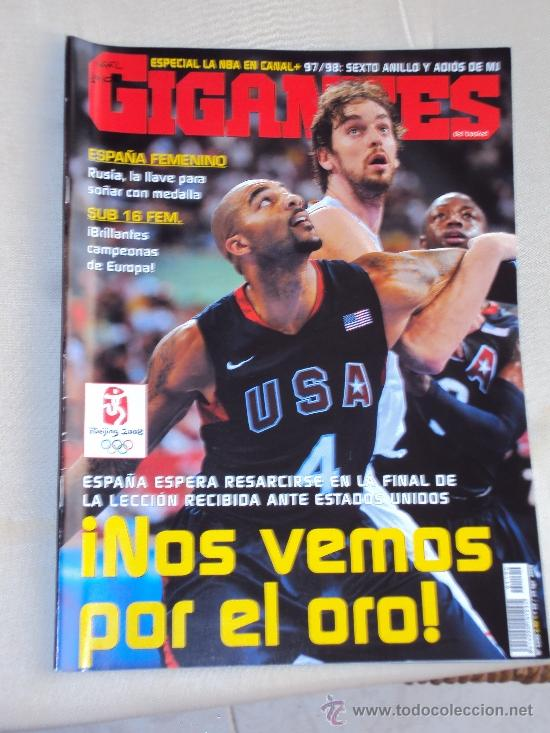 Coleccionismo deportivo: Pau Gasol. Lote 8 Revistas. II - Foto 9 - 37661418