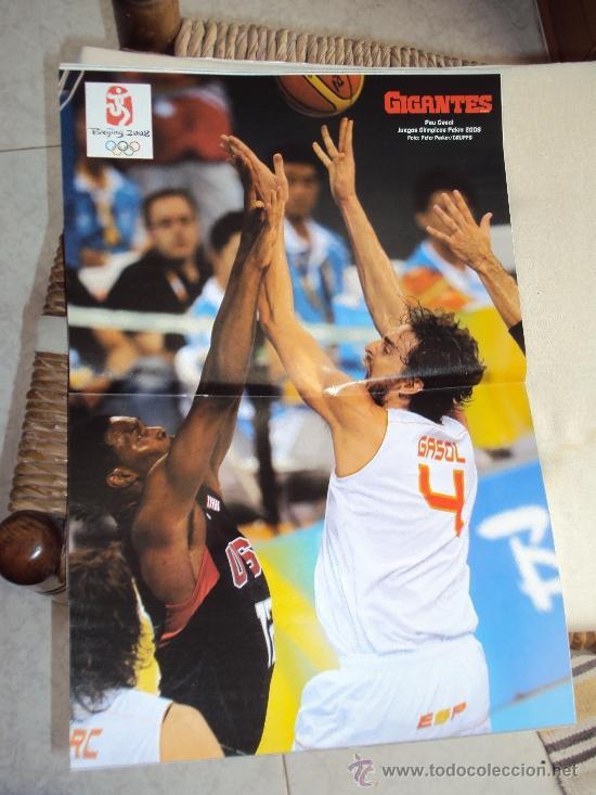 Coleccionismo deportivo: Pau Gasol. Lote 8 Revistas. II - Foto 10 - 37661418
