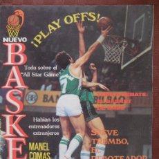 Coleccionismo deportivo: ANTIGUA REVISTA NUEVO BASKET NUMERO 118 AÑO 1984 VER FOTOS HAY VARIAS. Lote 37894513