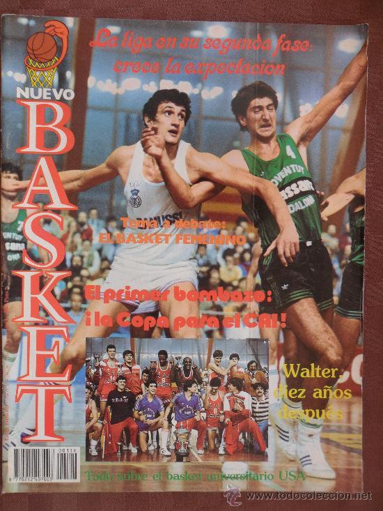 ANTIGUA REVISTA NUEVO BASKET NUMERO 116 AÑO 1984 VER FOTOS HAY VARIAS (Coleccionismo Deportivo - Revistas y Periódicos - otros Deportes)