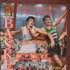 Coleccionismo deportivo: ANTIGUA REVISTA NUEVO BASKET NUMERO 116 AÑO 1984 VER FOTOS HAY VARIAS. Lote 37895088