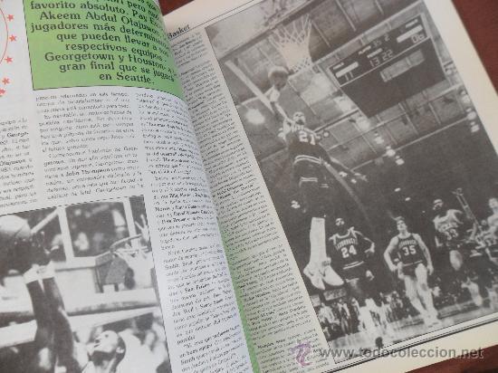 Coleccionismo deportivo: antigua revista nuevo basket numero 116 año 1984 ver fotos hay varias - Foto 2 - 37895088