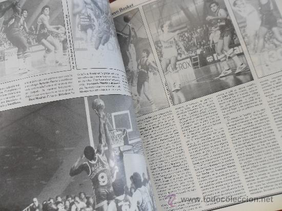 Coleccionismo deportivo: antigua revista nuevo basket numero 116 año 1984 ver fotos hay varias - Foto 3 - 37895088