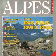 Coleccionismo deportivo: ALPES. REVISTA EN FRANCÉS. Lote 38180625