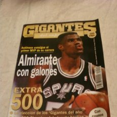 Coleccionismo deportivo: REVISTA GIGANTES. 1995. Lote 38819922