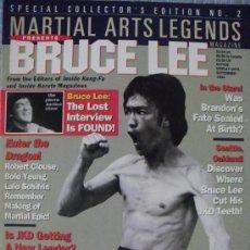 Coleccionismo deportivo: BRUCE LEE - REVISTA ESPECIAL DE ''MARTIAL ARTS LEGENDS''. Lote 38825598