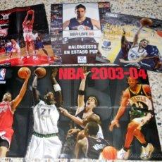 Coleccionismo deportivo: LOTE LOT POSTER PAU GASOL NBA BASKETBALL BALONCESTO ALL STARS 2006. Lote 39302790