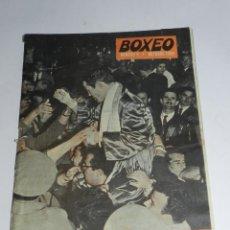 Coleccionismo deportivo: ANTIGUA REVISTA - BOXEO Nº 9 - ENERO 1960 - 30 PAGINAS . ROCKY MARCIANO, EZZARD CHARLES, DAVE CHARNL. Lote 39308086
