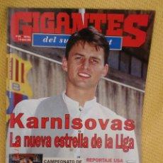Coleccionismo deportivo: GIGANTES BASKET 509 AGOSTO 1995 - KARNISOVAS. Lote 39373530