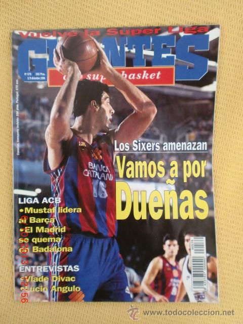 GIGANTES BASKET 579 DICIEMBRE 1996 - DUEÑAS (Coleccionismo Deportivo - Revistas y Periódicos - otros Deportes)