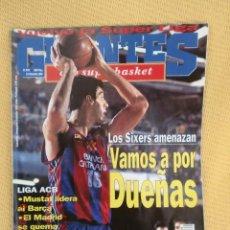 Coleccionismo deportivo: GIGANTES BASKET 579 DICIEMBRE 1996 - DUEÑAS. Lote 39373945
