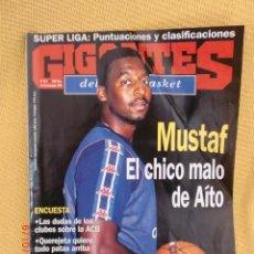 Coleccionismo deportivo: GIGANTES BASKET 577 NOVIEMBRE 1996 - MUSTAF. Lote 39373974