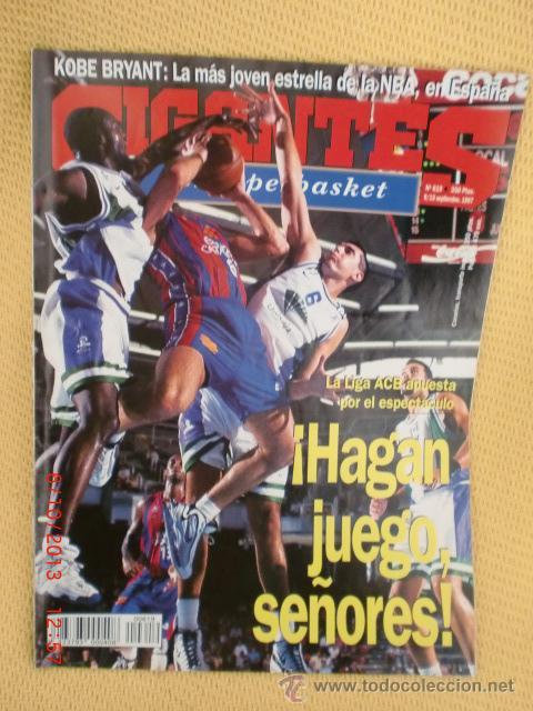 GIGANTES BASKET 619 SEPTIEMBRE 1997 (Coleccionismo Deportivo - Revistas y Periódicos - otros Deportes)