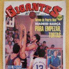 Coleccionismo deportivo: GIGANTES BASKET. NO. 202 - SEPTIEMBRE 1989. Lote 39619128