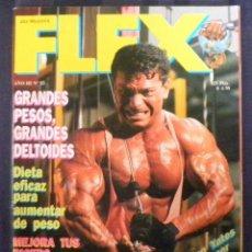 Collectionnisme sportif: REVISTA CULTURISMO FLEX. Nº 25. AÑO 1992. Lote 262679045