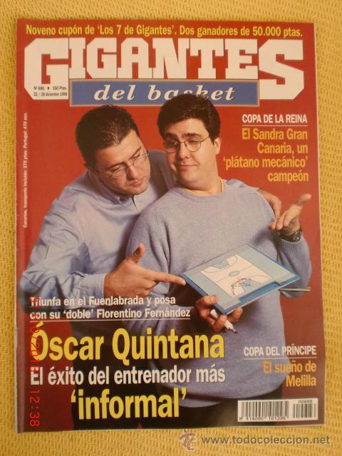 GIGANTES BASKET 686 - DICIEMBRE 1998 (Coleccionismo Deportivo - Revistas y Periódicos - otros Deportes)