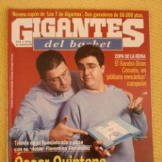 Coleccionismo deportivo: GIGANTES BASKET 686 - DICIEMBRE 1998. Lote 39882821
