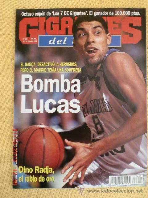 GIGANTES BASKET 685 - DICIEMBRE 1998 (Coleccionismo Deportivo - Revistas y Periódicos - otros Deportes)